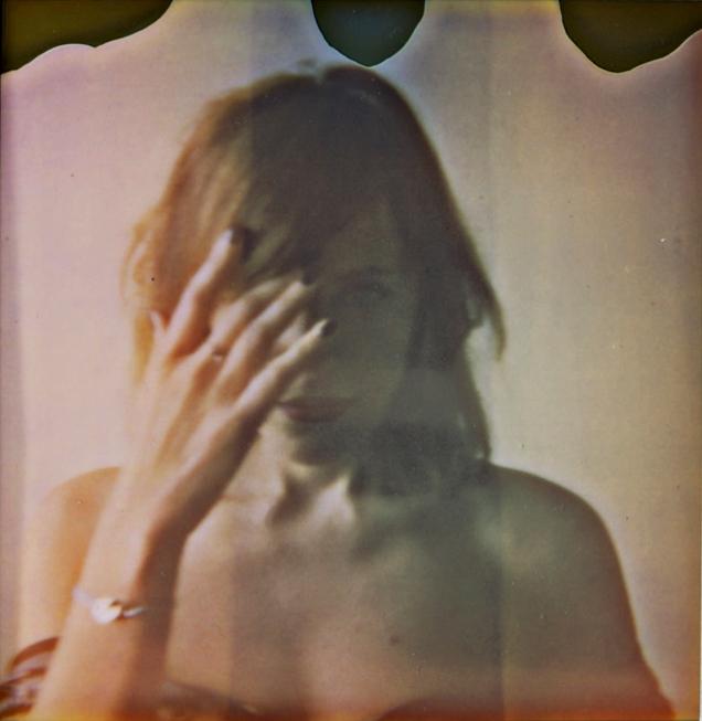 Portrait on Polaroid by Nakissa Ashtiani